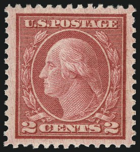 Sale Number 1026, Lot Number 1464, 1912-22 Issues, continued (Scott 498f-547)2c Carmine Rose, Ty. III, Rotary (546), 2c Carmine Rose, Ty. III, Rotary (546)