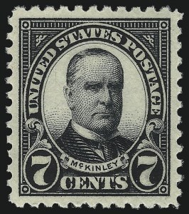 Sale Number 1026, Lot Number 1468, 1922 and Later Issues (Scott 554-1689f)7c Black (559), 7c Black (559)
