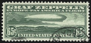 Sale Number 1026, Lot Number 1511, Air Post65c Graf Zeppelin (C13), 65c Graf Zeppelin (C13)