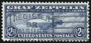 Sale Number 1026, Lot Number 1513, Air Post$2.60 Graf Zeppelin (C15), $2.60 Graf Zeppelin (C15)