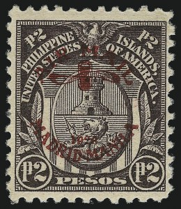 Sale Number 1026, Lot Number 1600, Revenues thru U.S. PossessionsPHILIPPINES, 1926, 12p Violet Brown, Air Post (C13), PHILIPPINES, 1926, 12p Violet Brown, Air Post (C13)