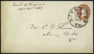 Sale Number 1026, Lot Number 1926, Civil War and Confederate States thru Hawaii: Stamps and CoversRichmond Va. Apr. 24, 1861, Richmond Va. Apr. 24, 1861