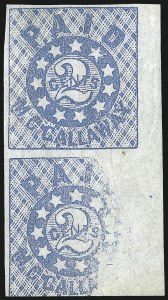 Sale Number 1026, Lot Number 1934, Civil War and Confederate States thru Hawaii: Stamps and CoversMemphis Tenn., 2c Blue (56X1), Memphis Tenn., 2c Blue (56X1)