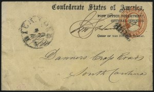 Sale Number 1026, Lot Number 1950, Civil War and Confederate States thru Hawaii: Stamps and CoversPost Office Department, Official Business, Post Office Department, Official Business