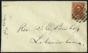 Sale Number 1026, Lot Number 1954, Civil War and Confederate States thru Hawaii: Stamps and CoversHAWAII, 1864, 2c Rose Vermilion (31), HAWAII, 1864, 2c Rose Vermilion (31)