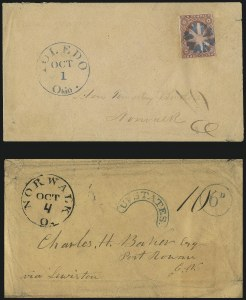 Sale Number 1026, Lot Number 1960, U.S. Cover Collections and Group Lots3c 1851-57 Cover Balance, 3c 1851-57 Cover Balance