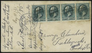 Sale Number 1026, Lot Number 1969, U.S. Cover Collections and Group LotsIndian and Oklahoma Territory Covers, Indian and Oklahoma Territory Covers