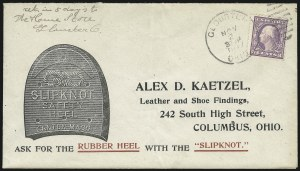 Sale Number 1026, Lot Number 1974, U.S. Cover Collections and Group LotsNov. 2, 1917, 3c World War I Rate, Nov. 2, 1917, 3c World War I Rate