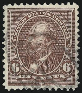 Sale Number 1027, Lot Number 144, 1895 Watermarked Bureau Issue (Scott 264-278)6c Dull Brown (271), 6c Dull Brown (271)