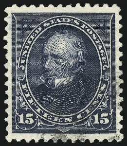 Sale Number 1027, Lot Number 150, 1895 Watermarked Bureau Issue (Scott 264-278)15c Dark Blue (274), 15c Dark Blue (274)
