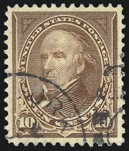 Sale Number 1027, Lot Number 159, 1898 Bureau Issue Change of Colors (Scott 279-283)10c Brown, Ty. I (282C), 10c Brown, Ty. I (282C)