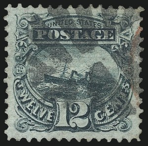 Sale Number 1027, Lot Number 9, 1869 Pictorial Issue (Scott 112-122)12c Green (117), 12c Green (117)