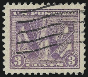 Sale Number 1028, Lot Number 455, 1918-20 Issues (Scott 537 and Shades)3c Light Reddish Violet (537b), 3c Light Reddish Violet (537b)