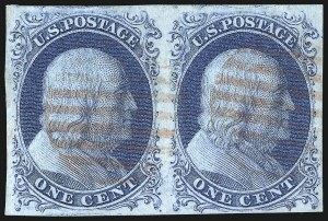 Sale Number 1032, Lot Number 3016, 1c 1851-56 Issue (Scott 5A-9)1c Blue, Ty. II (7), 1c Blue, Ty. II (7)