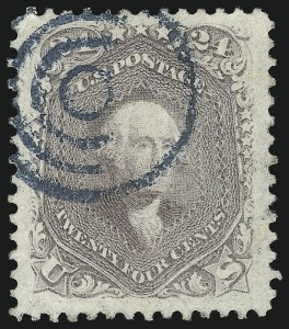 Sale Number 1032, Lot Number 3141, 1861-66 Issue (Scott 68-78b)24c Lilac (78), 24c Lilac (78)