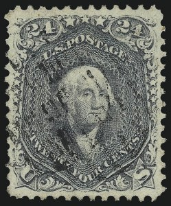 Sale Number 1032, Lot Number 3144, 1861-66 Issue (Scott 68-78b)24c Gray (78b), 24c Gray (78b)