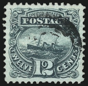 Sale Number 1032, Lot Number 3189, 1c-90c 1869 Pictorial Issue (Scott 112-122)12c Green (117), 12c Green (117)