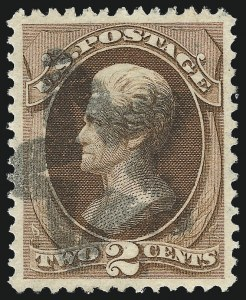 Sale Number 1032, Lot Number 3232, 1870-71 National Bank Note Co. Issue, Ungrilled (Scott 145-155)2c Red Brown (146), 2c Red Brown (146)