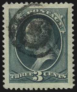 Sale Number 1032, Lot Number 3284, 1979-88 American Bank Note Co. Issues (Scott 182-191)3c Green (184), 3c Green (184)