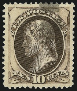 Sale Number 1032, Lot Number 3292, 1979-88 American Bank Note Co. Issues (Scott 182-191)10c Brown, With Secret Mark (188), 10c Brown, With Secret Mark (188)