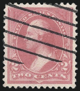 Sale Number 1032, Lot Number 3364, 1894-98 Bureau Issues, Unwatermarked (Scott 246-263)2c Pink, Ty. I (248), 2c Pink, Ty. I (248)