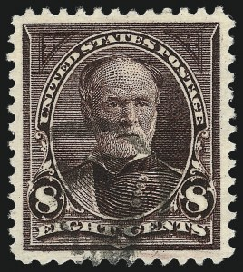 Sale Number 1032, Lot Number 3388, 1894-98 Bureau Issues, Watermarked and Color Change (Scott 264-284)8c Violet Brown (272), 8c Violet Brown (272)