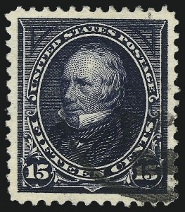 Sale Number 1032, Lot Number 3391, 1894-98 Bureau Issues, Watermarked and Color Change (Scott 264-284)15c Indigo (274), 15c Indigo (274)