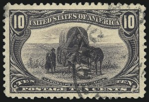 Sale Number 1032, Lot Number 3417, 1898 Trans-Mississippi Issue (Scott 285-293)10c Trans-Mississippi (290), 10c Trans-Mississippi (290)