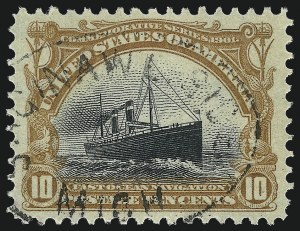 Sale Number 1032, Lot Number 3422, 1901 Pan-American Issue (Scott 294a, 294-299)1c-10c Pan-American (294/299), 1c-10c Pan-American (294/299)