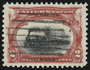 Sale Number 1032, Lot Number 3425, 1901 Pan-American Issue (Scott 294a, 294-299)2c Pan-American (295), 2c Pan-American (295)