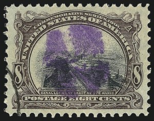 Sale Number 1032, Lot Number 3426, 1901 Pan-American Issue (Scott 294a, 294-299)8c Pan-American (298), 8c Pan-American (298)