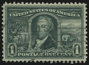 Sale Number 1032, Lot Number 3452, Louisiana Purchase and Jamestown Issues (Scott 323-330)1c Louisiana Purchase (323), 1c Louisiana Purchase (323)