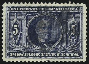 Sale Number 1032, Lot Number 3455, Louisiana Purchase and Jamestown Issues (Scott 323-330)5c Louisiana Purchase (326), 5c Louisiana Purchase (326)