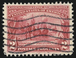 Sale Number 1032, Lot Number 3458, Louisiana Purchase and Jamestown Issues (Scott 323-330)2c Jamestown (329), 2c Jamestown (329)