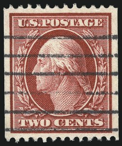 Sale Number 1032, Lot Number 3471, 1908-12 Washington-Franklin Issues (Scott 331-365)1c Green, 2c Carmine, Coil (348-349), 1c Green, 2c Carmine, Coil (348-349)