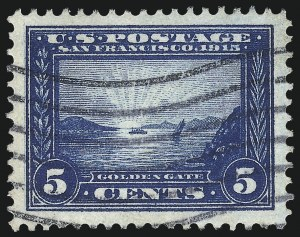 Sale Number 1032, Lot Number 3503, 1913 Panama Pacific Issue (Scott 397-404)5c Panama-Pacific (399), 5c Panama-Pacific (399)