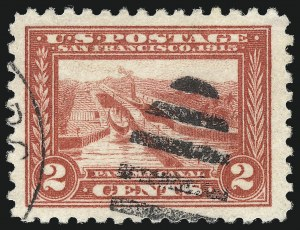 Sale Number 1032, Lot Number 3507, 1913 Panama Pacific Issue (Scott 397-404)2c Panama-Pacific, Perf 10 (402), 2c Panama-Pacific, Perf 10 (402)