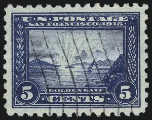 Sale Number 1032, Lot Number 3508, 1913 Panama Pacific Issue (Scott 397-404)5c Panama-Pacific, Perf 10 (403), 5c Panama-Pacific, Perf 10 (403)
