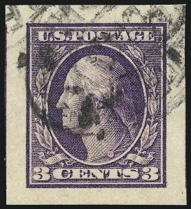 Sale Number 1032, Lot Number 3514, 1912-16 Washington-Franklin Issues (Scott 405-440)1912-18 Imperforate Issues, Graded Gem 100 Jumbo (408/484), 1912-18 Imperforate Issues, Graded Gem 100 Jumbo (408/484)