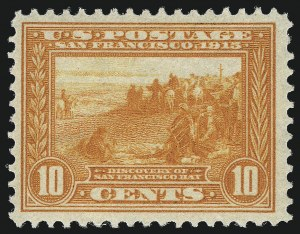 Sale Number 1033, Lot Number 4216, 1913 Panama Pacific thru Later Issues (Scott 400-679)10c Orange, Panama-Pacific (400A), 10c Orange, Panama-Pacific (400A)