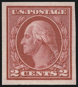 Sale Number 1033, Lot Number 4233, 1913 Panama Pacific thru Later Issues (Scott 400-679)2c Carmine, Ty. I, Imperforate Coil (459), 2c Carmine, Ty. I, Imperforate Coil (459)