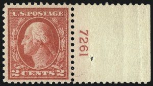 Sale Number 1033, Lot Number 4235, 1913 Panama Pacific thru Later Issues (Scott 400-679)2c Pale Carmine Red, Ty. I (461), 2c Pale Carmine Red, Ty. I (461)