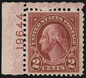 Sale Number 1033, Lot Number 4251, 1913 Panama Pacific thru Later Issues (Scott 400-679)2c Carmine, Ty. II (634A), 2c Carmine, Ty. II (634A)