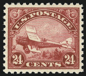 Sale Number 1033, Lot Number 4254, Air Post, Special Delivery, Official Seals24c Carmine, 1923 Air Post (C6), 24c Carmine, 1923 Air Post (C6)