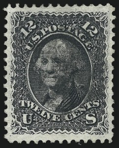 Sale Number 1034, Lot Number 101, 1867-68 Grilled Issue (Scott 79-101)12c Black, E. Grill (90), 12c Black, E. Grill (90)