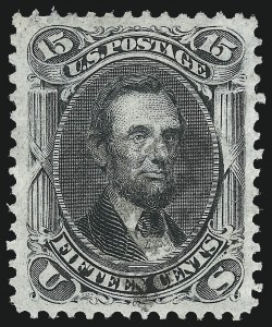 Sale Number 1034, Lot Number 109, 1867-68 Grilled Issue (Scott 79-101)15c Black, F. Grill (98), 15c Black, F. Grill (98)
