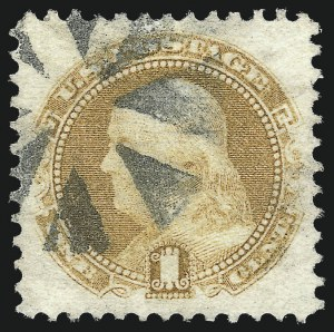 Sale Number 1034, Lot Number 121, 1869 Pictorial Issue and 1875 Re-Issue (Scott 112-131)1c Buff (112), 1c Buff (112)