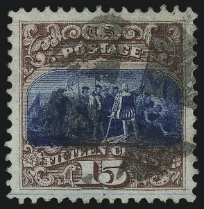 Sale Number 1034, Lot Number 127, 1869 Pictorial Issue and 1875 Re-Issue (Scott 112-131)15c Brown & Blue, Ty. I (118), 15c Brown & Blue, Ty. I (118)