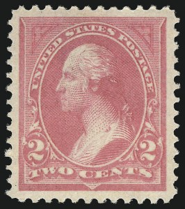 Sale Number 1034, Lot Number 228, 1894 Bureau Issue (Scott 246-263)2c Pink, Ty. I (248), 2c Pink, Ty. I (248)