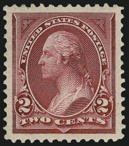 Sale Number 1034, Lot Number 229, 1894 Bureau Issue (Scott 246-263)2c Carmine Lake, Ty. I (249), 2c Carmine Lake, Ty. I (249)